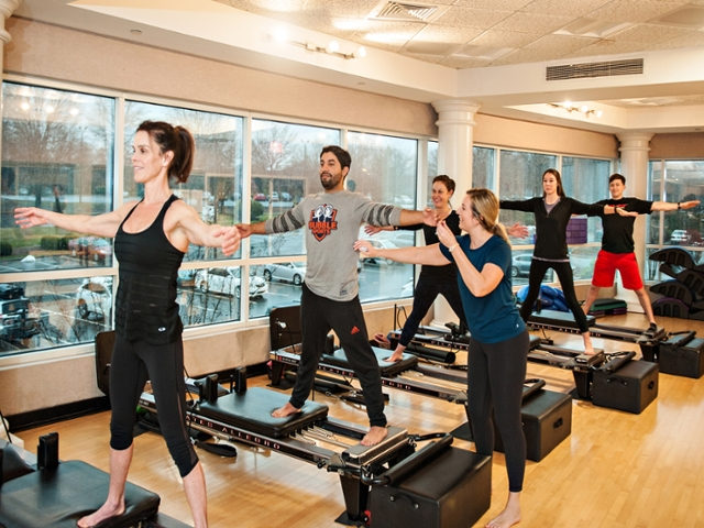 large group pilates