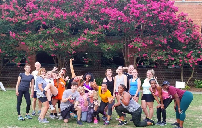 Join Us For A Free Workout At LeBauer Park Every Thursday
